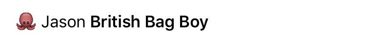 8 bag boy